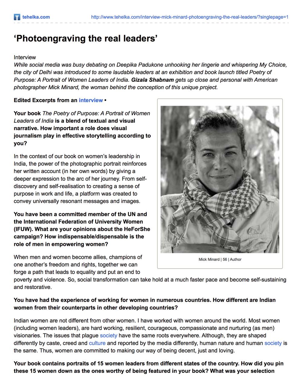 'Photoengraving the real leaders' | Tehelka.com.jpg