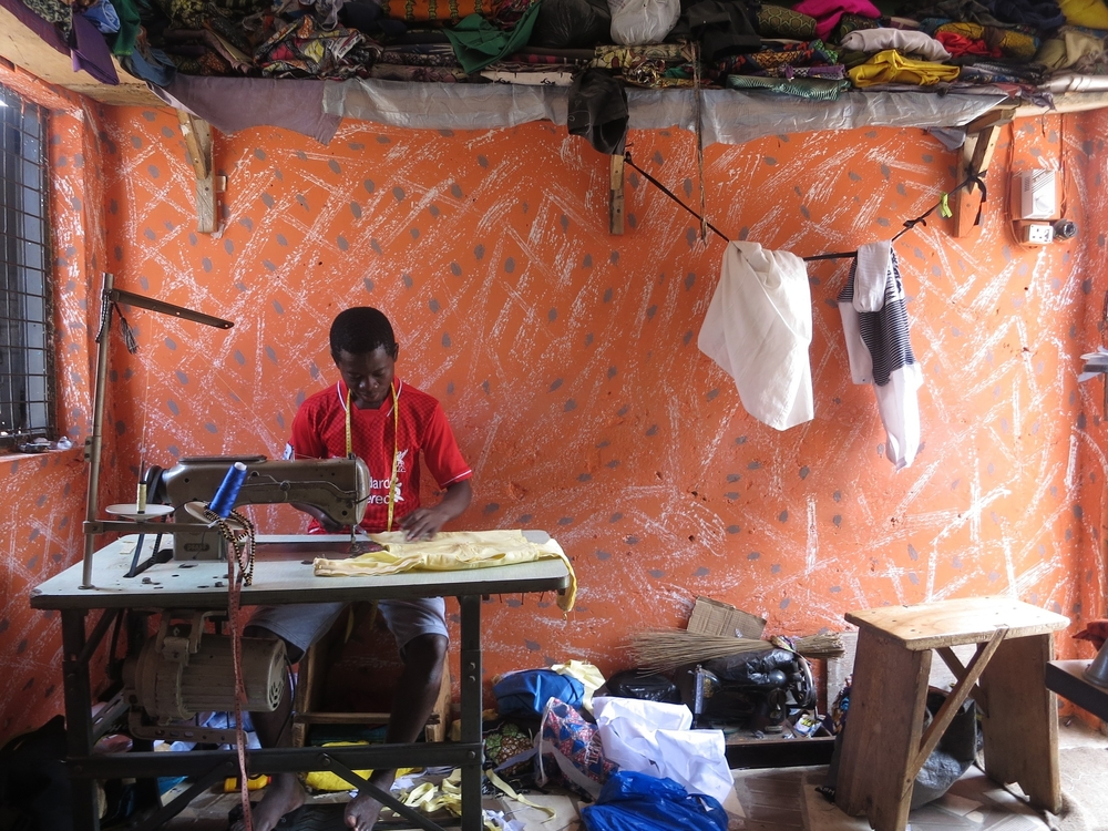 """""""Mustafa-one of the tailors from across the road"""""""