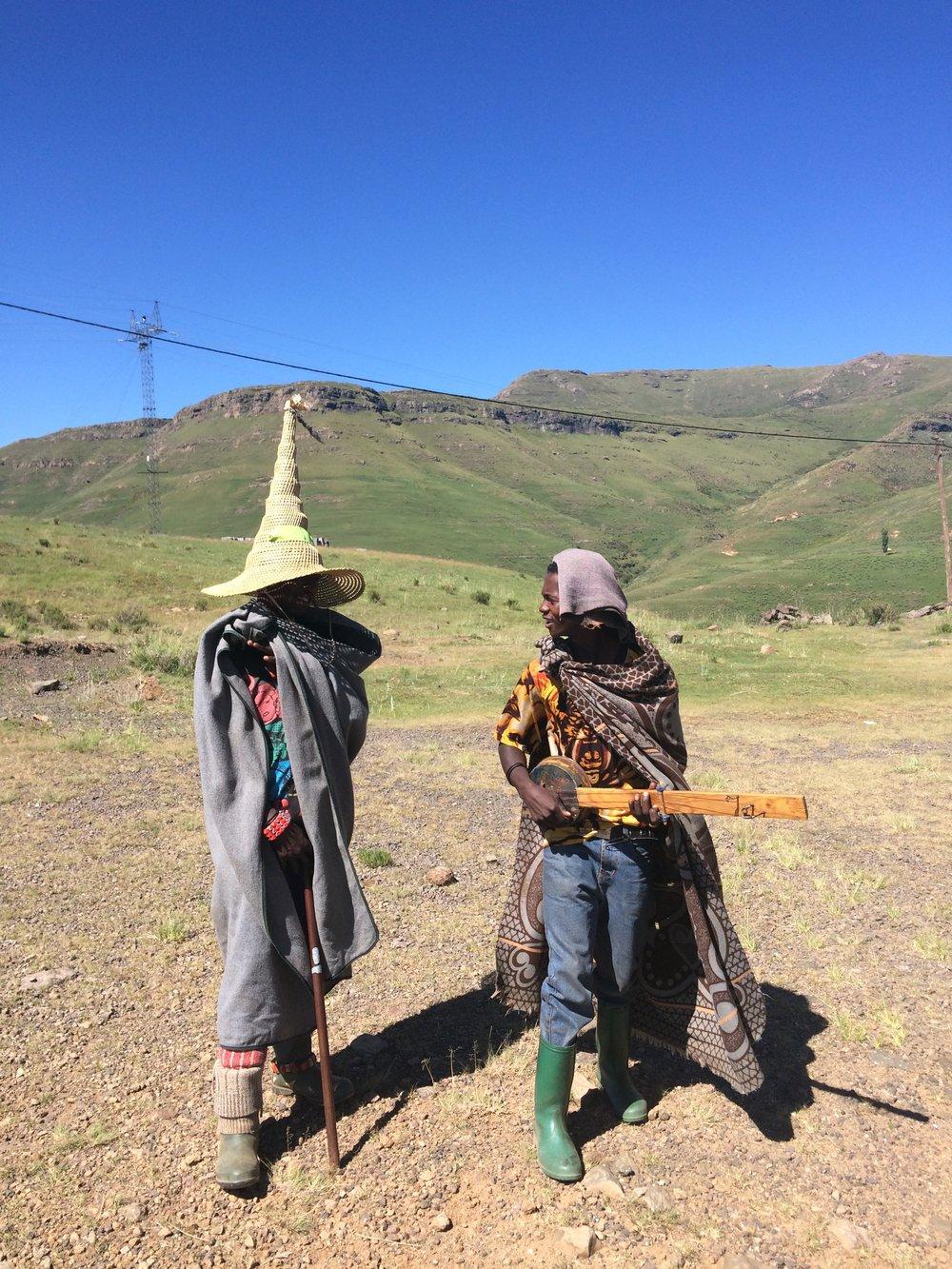 Herder boys in Lesotho