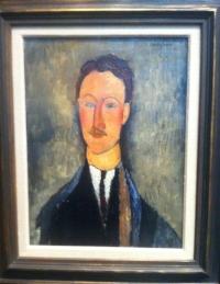 Amedeo Modigliani: Taidemaalari Léopold Survagen muotokuva, Ateneumin taidemuseo