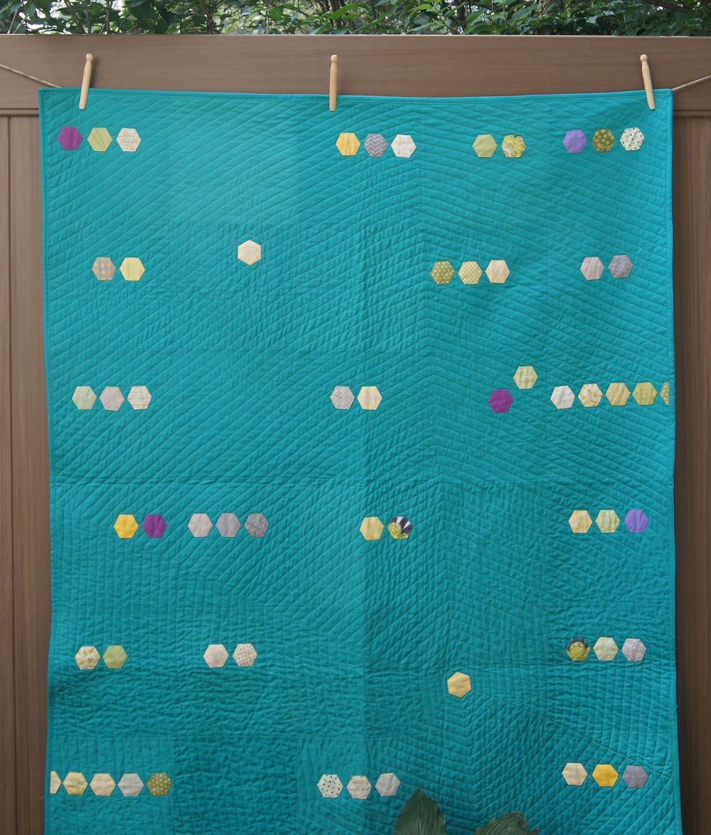 Hexagonal quilting
