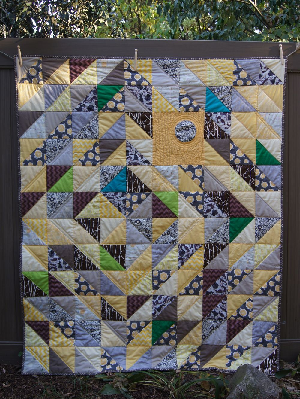 Quilt Half Square triangle tree quilt.jpg