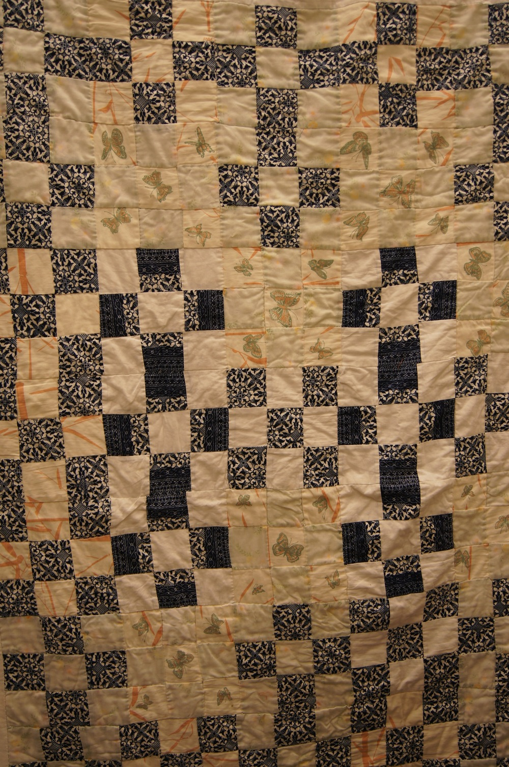 Joyce Adam's first quilt