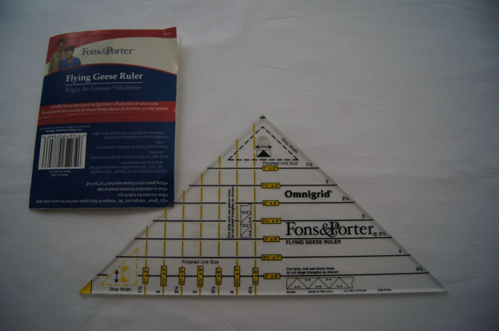 Fons & Porter Omnigrid Flying Geese Ruler