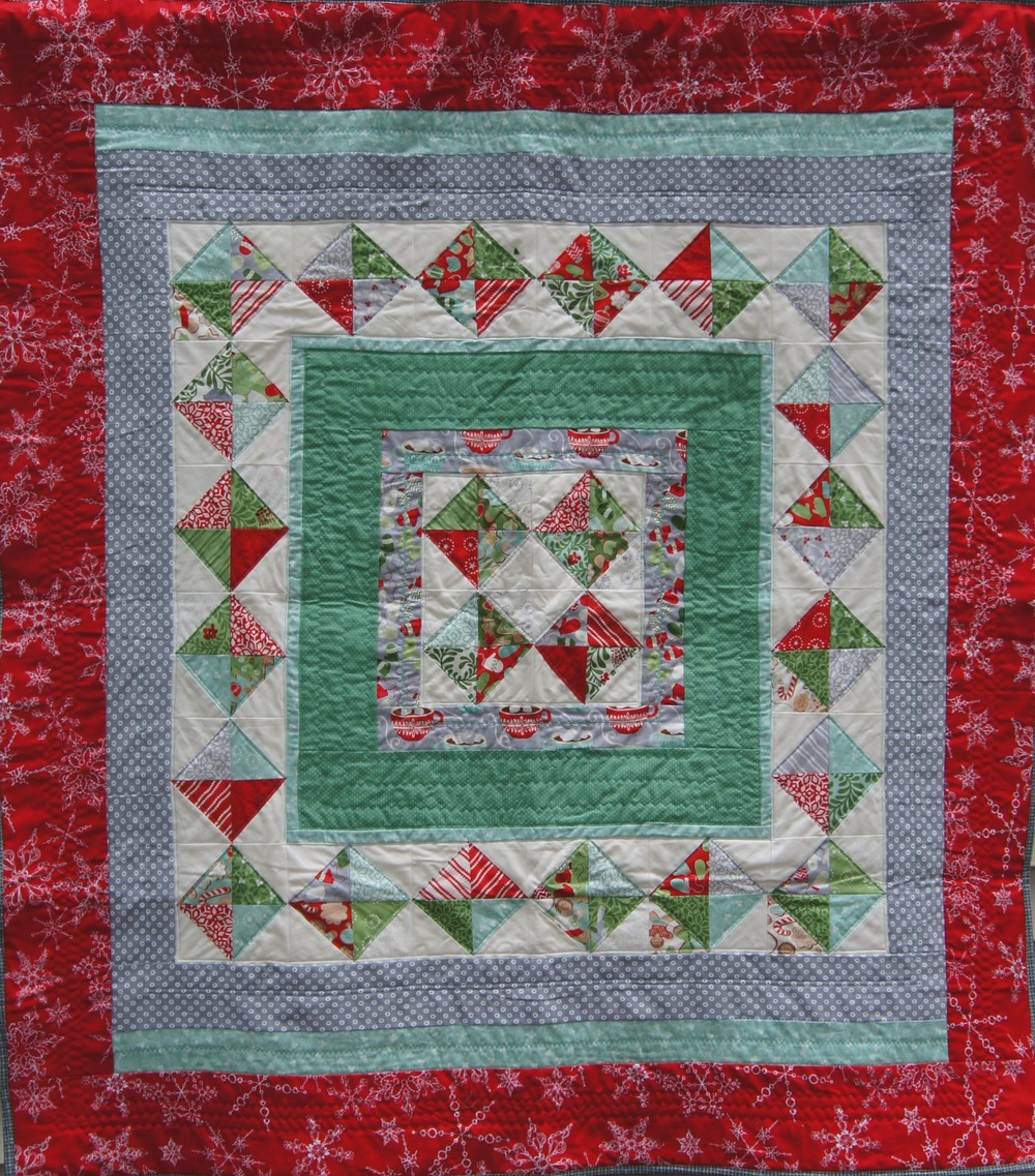 Christmas Medallion Quilt
