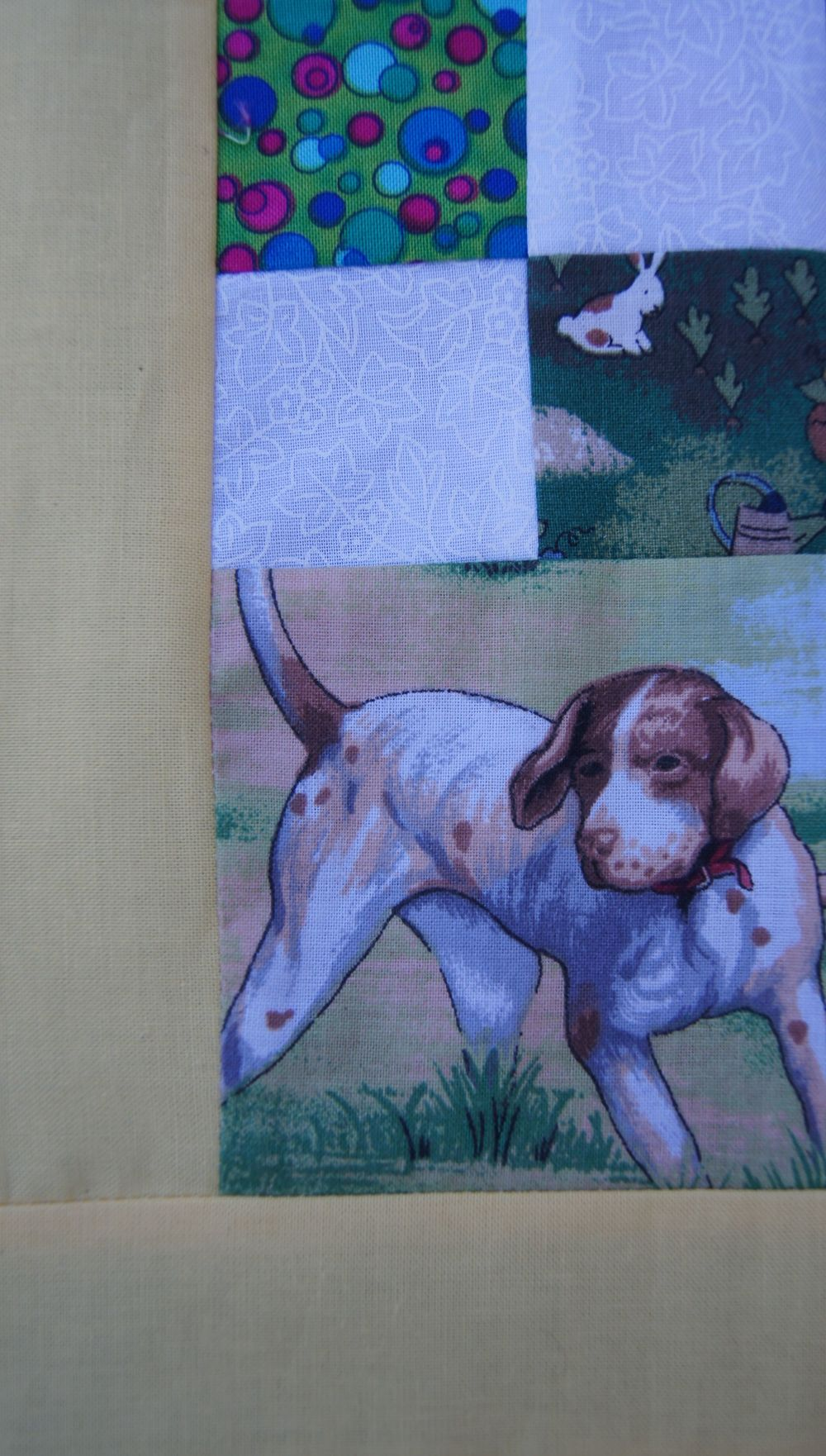 Quilt Grand Illusion Cornerstone 3 with rabbit.jpg