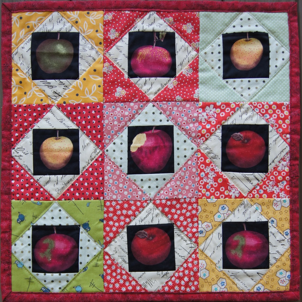 Economy Block wall hanging 15 1/2 x 15 1/2 inches square, Economy blocks finish at 4 3/4 inches