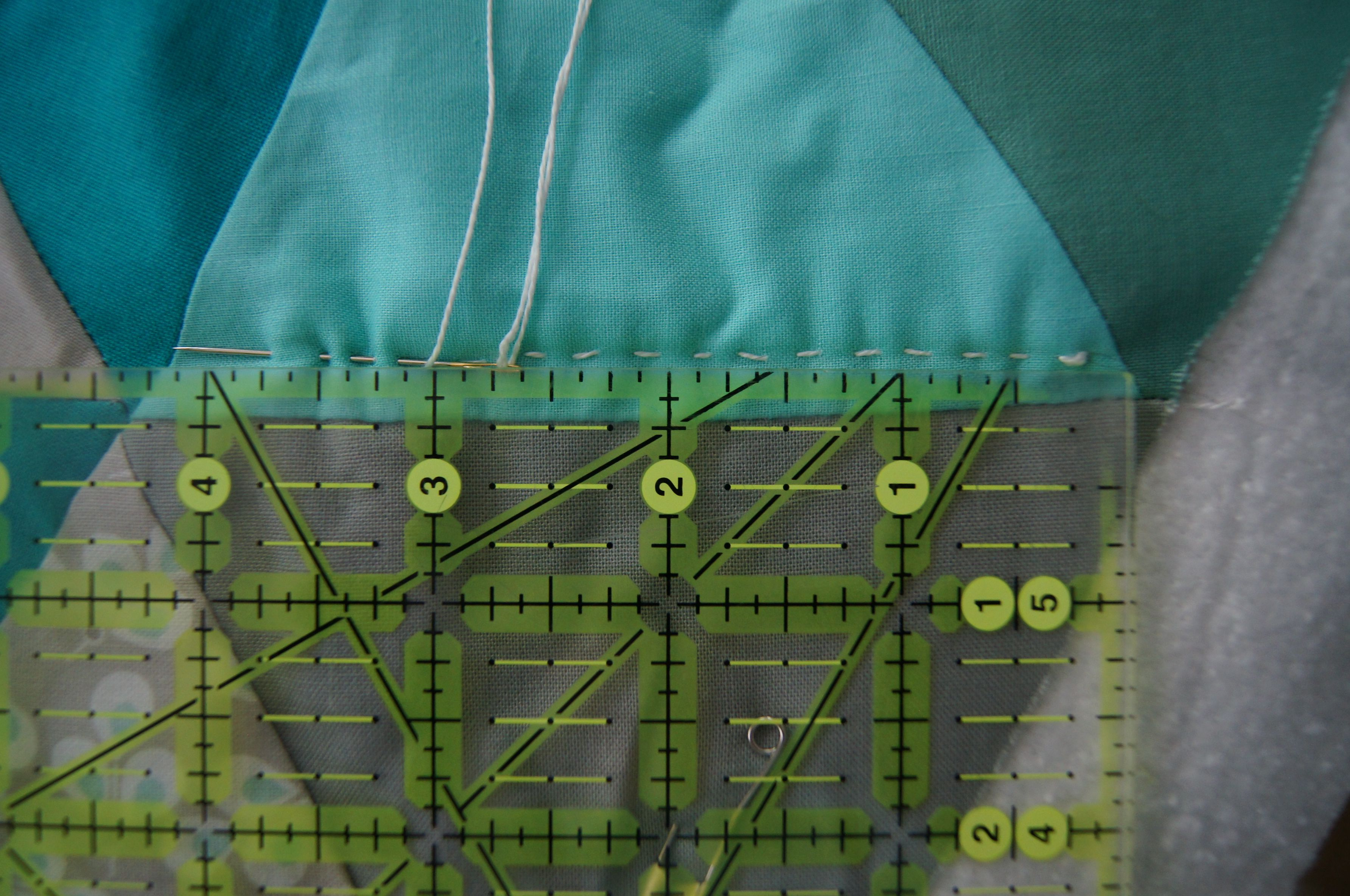 Stitching with 8 Perle Cotton and ruler.jpg