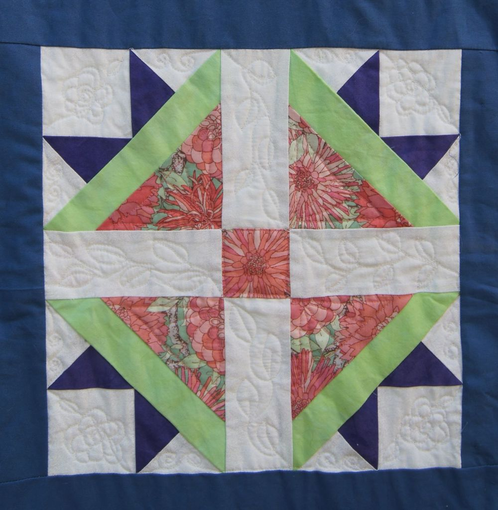 Quilt Vintage Modern Cross and Crown.jpg
