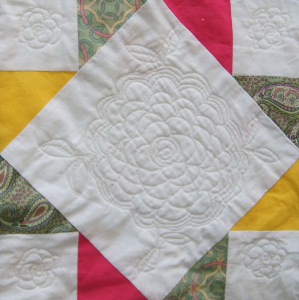 Quilt Vintage Modern Cross and Rose.jpg