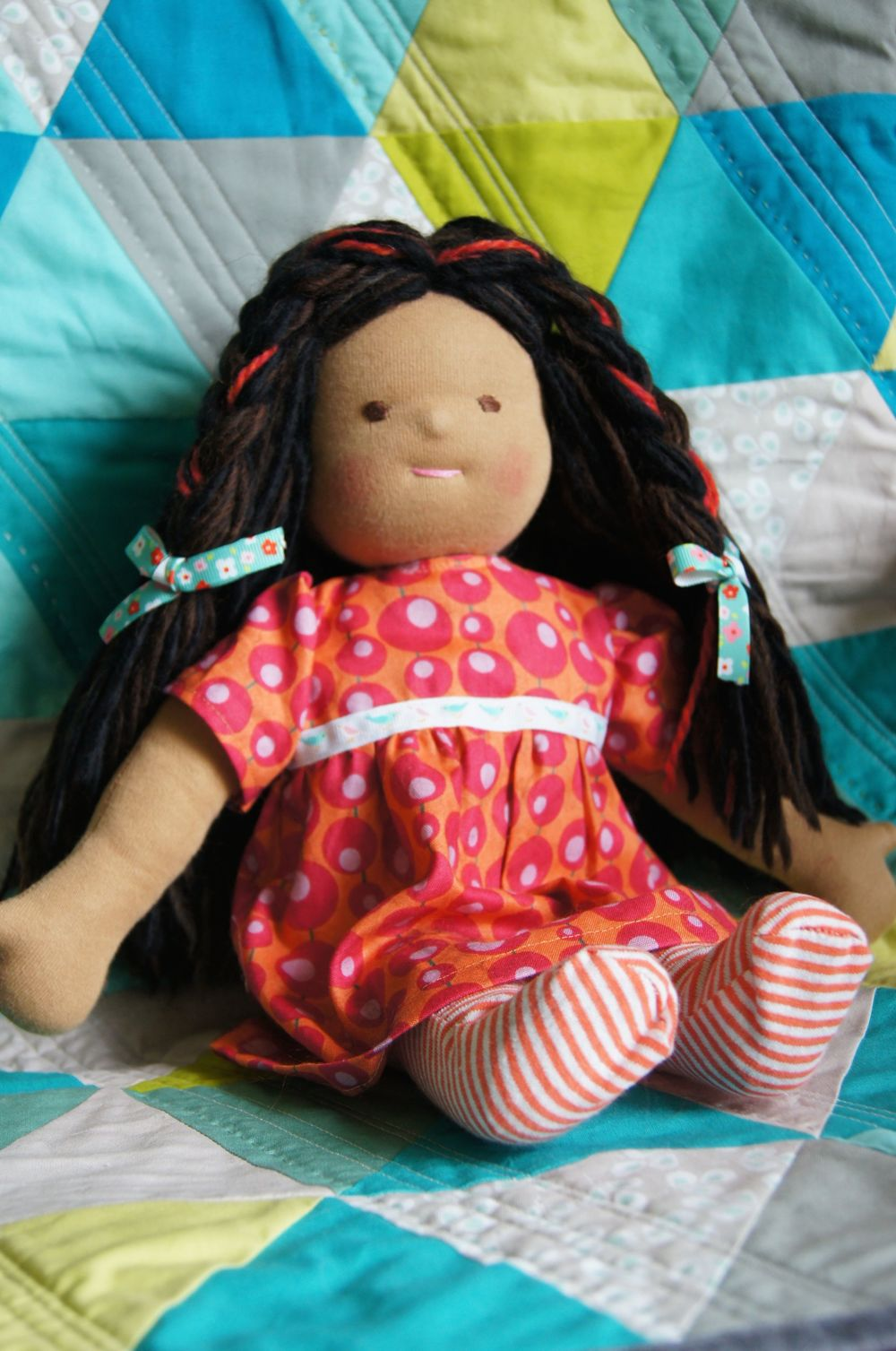 Doll Brown skin, dark hair 14.5 in 7-15.jpg