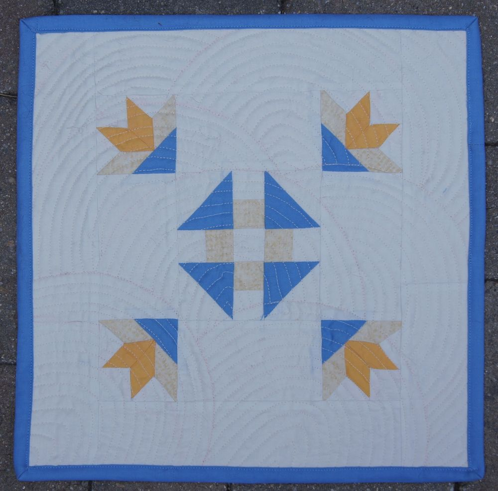 Quilting of Tucker Family Heirloom Block