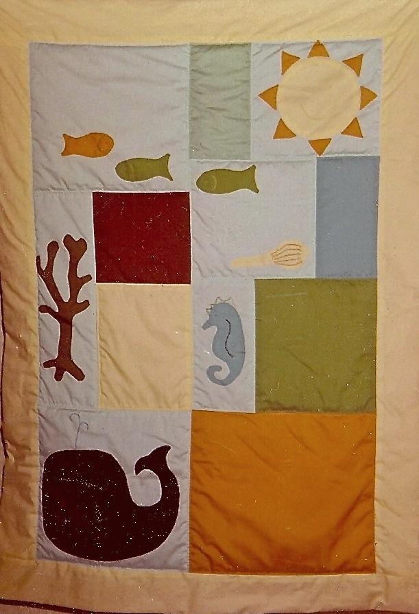 """""""Sea Quilt"""" 1972"""