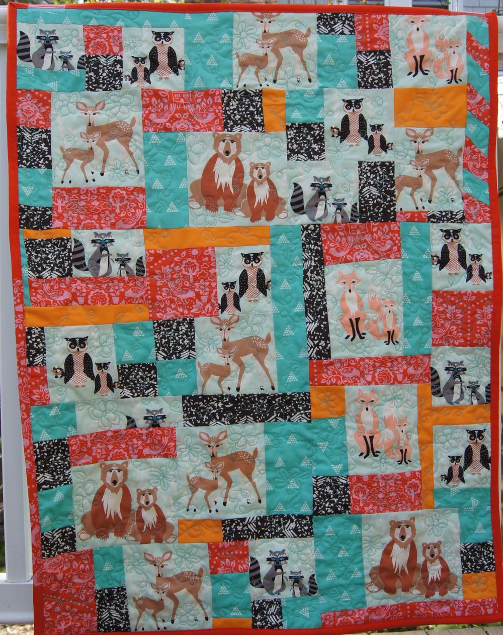 Quilt Woodland Friends JPKS finished Quilt.jpg
