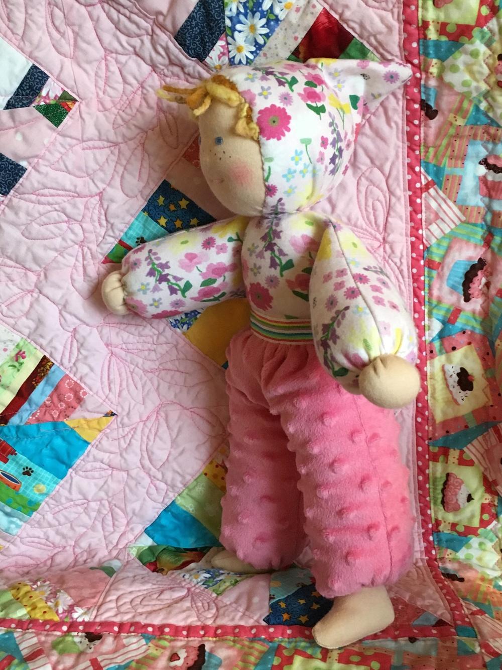 Doll Soft Waldorf doll standing.jpg