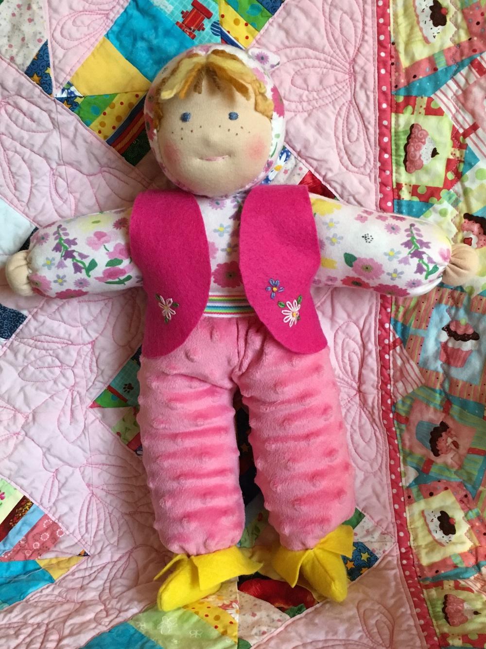 Doll Soft Waldorf doll w shoes standing.jpg