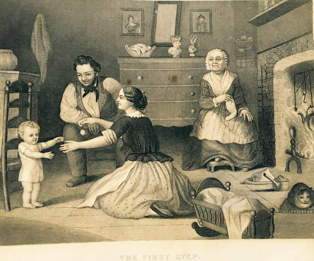 """The First Step"" 1858."
