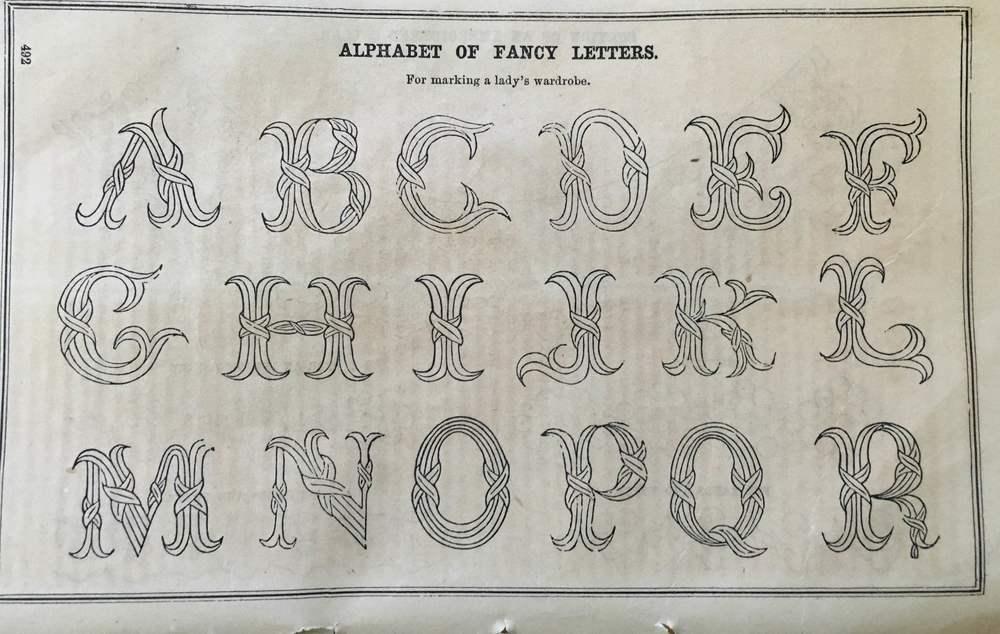 Vintage alphabet June 58 Godey's.jpg