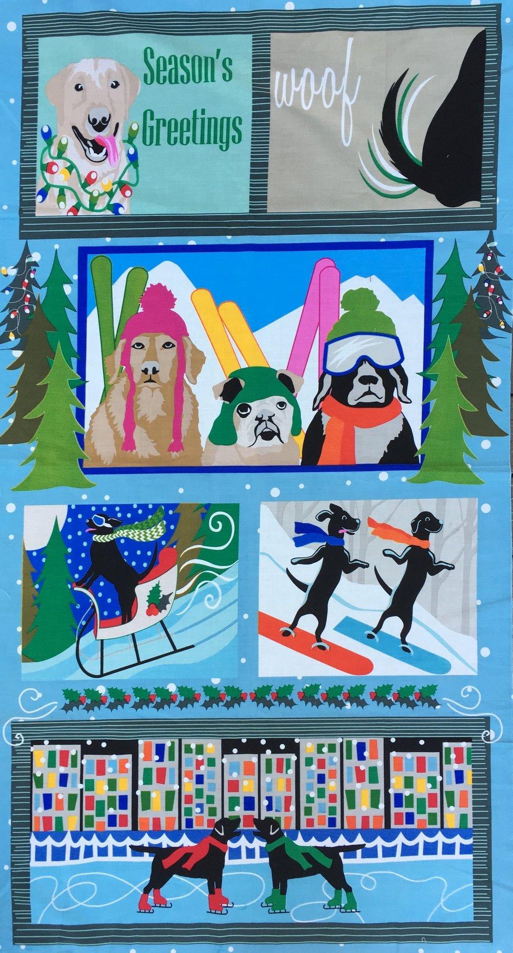 - The original quilt panel