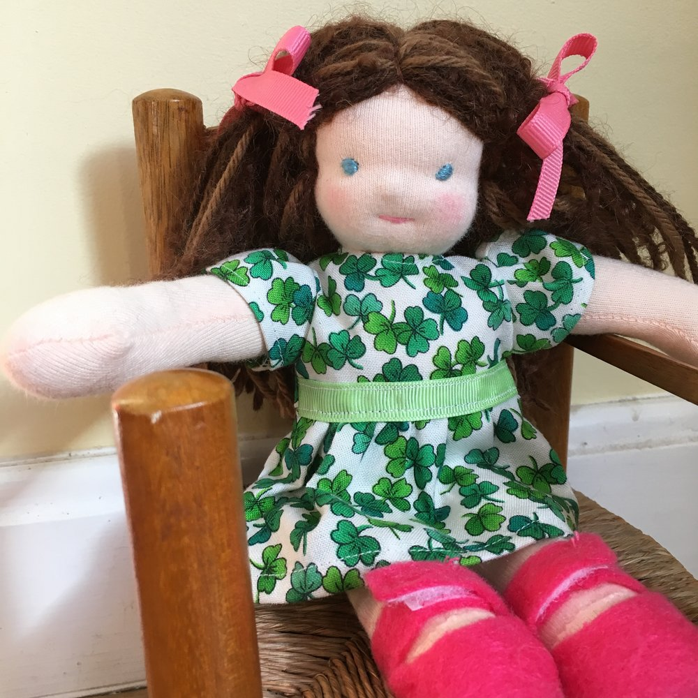 "Fair Fiona, 8"" Waldorf Doll"