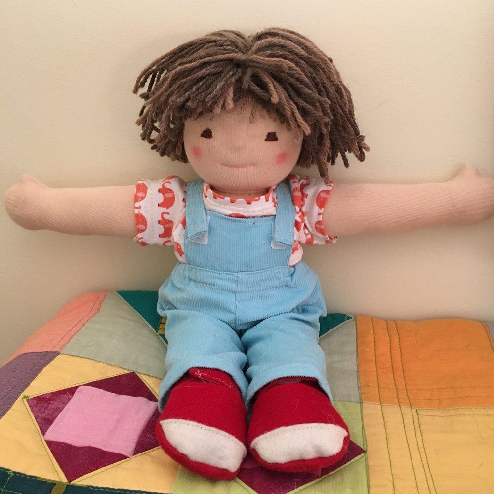 Declan, 12 inch Waldorf type doll