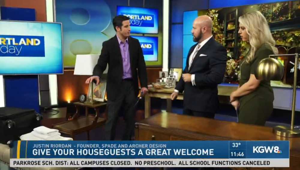 NBC 8 PORTLAND TODAY: THE PERFECT GUEST ROOM