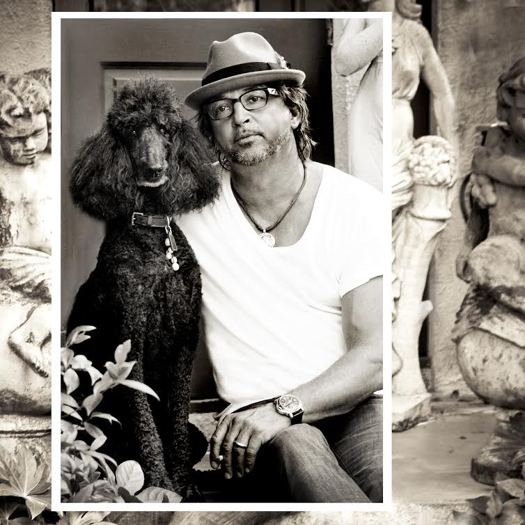 Jean Noel Mignot and French Poodle, Dauphine