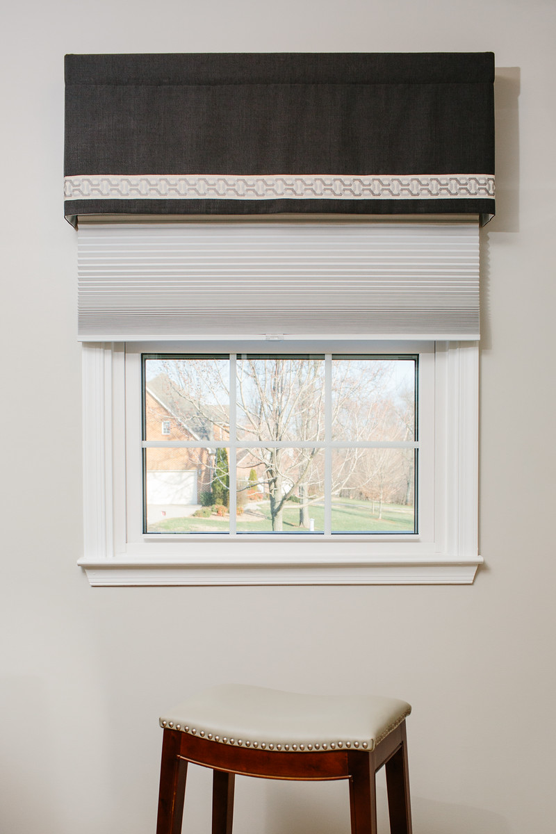 Cyr - Custom Valance & Shades
