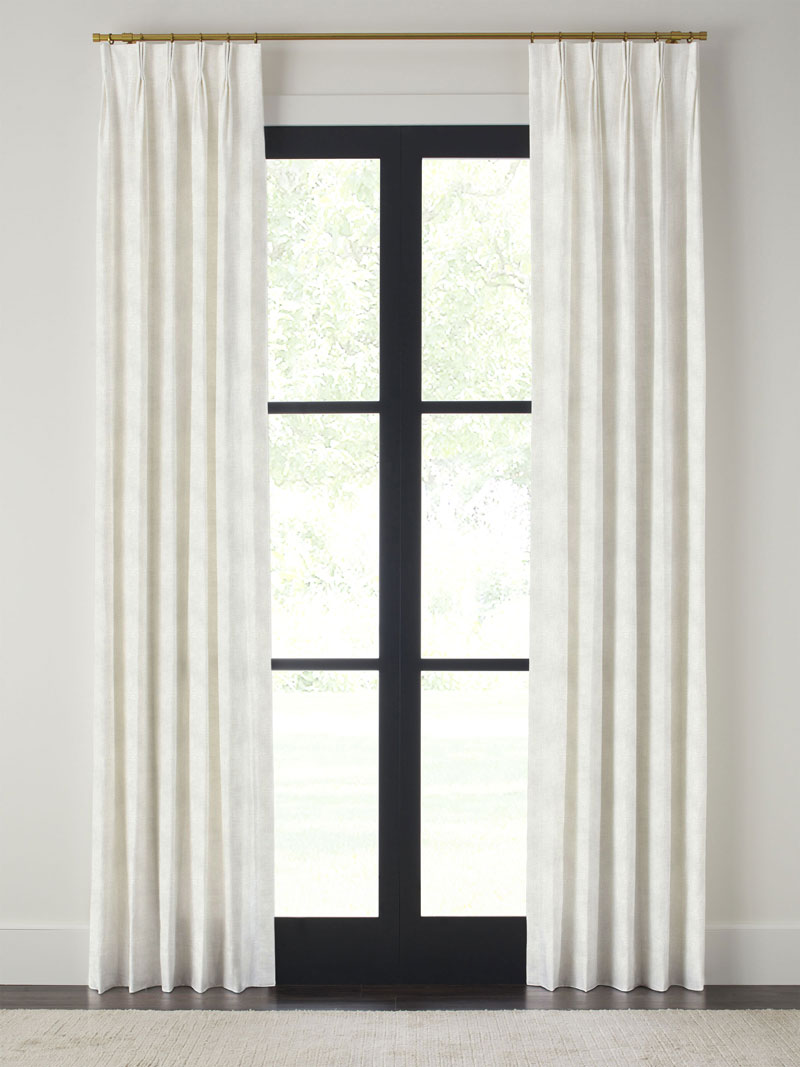 """QUICK SHIP DRAPERIES   - 5 or 10 day ship time  - 3 lengths available (84"""", 96"""" & 108"""")  - Pinch pleat & grommet top available"""