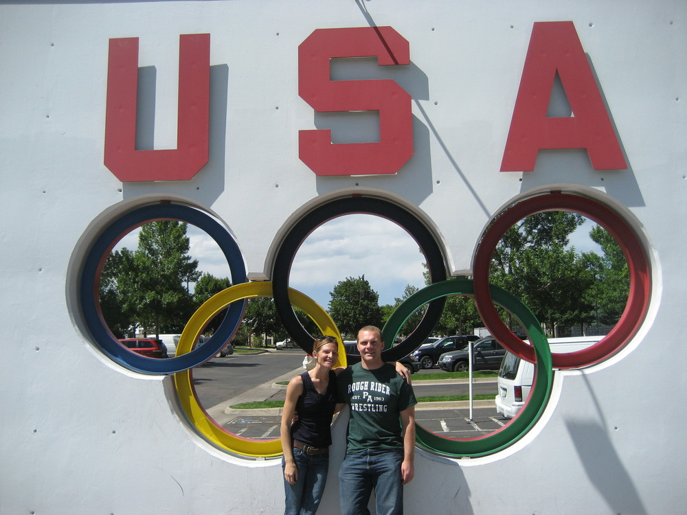 Visiting the Olympic Training Center in Colorado Springs