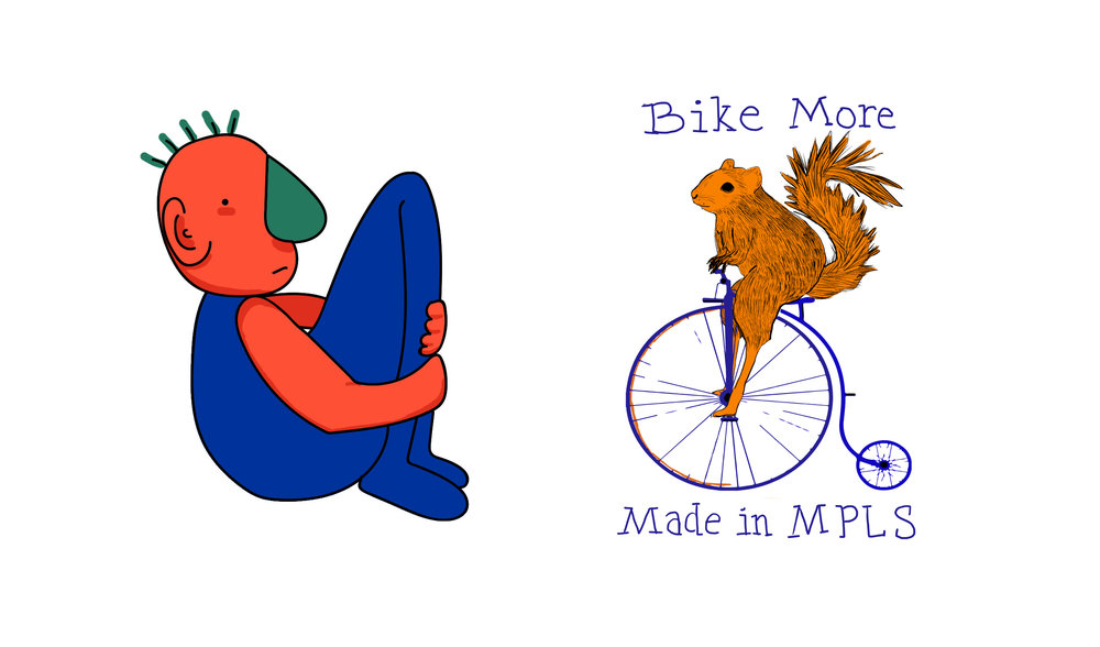"- Andy Valdes, ""Welp & Bike More Made in MPLS,"" Tradition and Digital, 2018"
