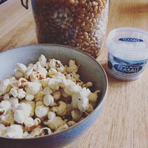 Achill Island Sea Salted Popcorn