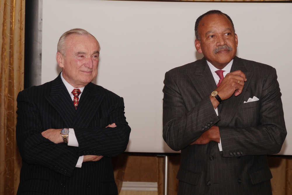 NYPD Commissioner Bill Bratton & Deputy Commissioner Benjamin Tucker