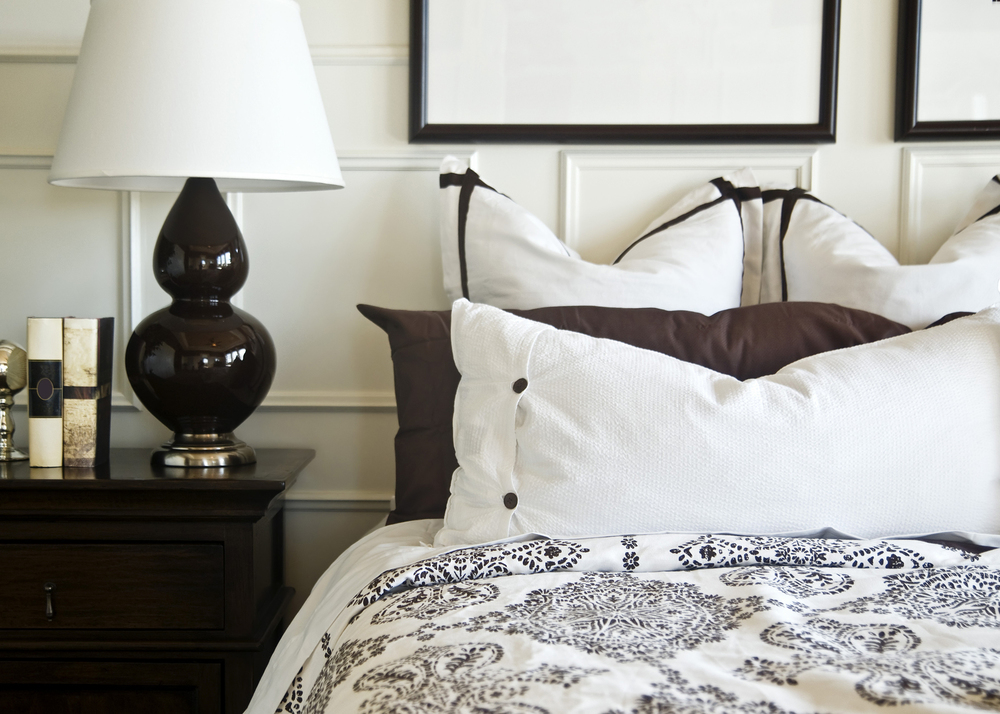 Luxury bed linens to make you feel special