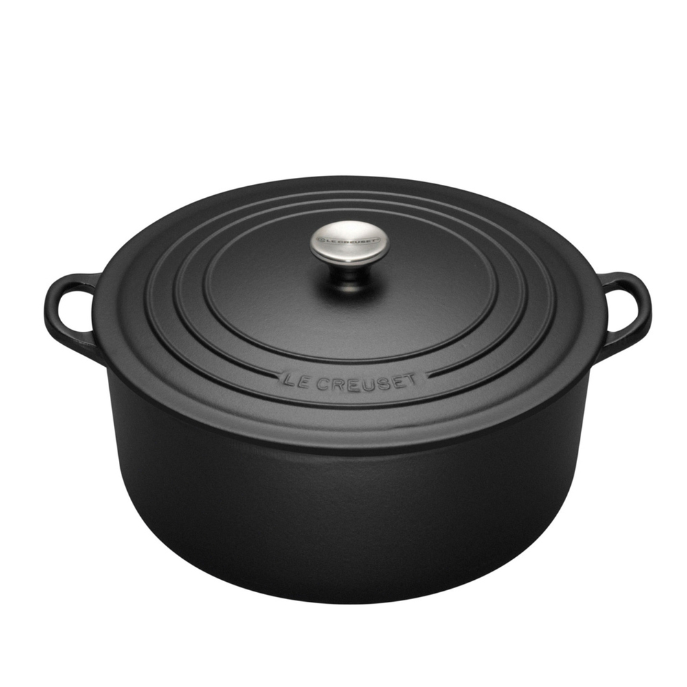 from $300 NB: Price varies according to size of the pot - Use the controls on the Le Creuset site to get the size and colour you desire. (5 1/2 Qts is the most popular)