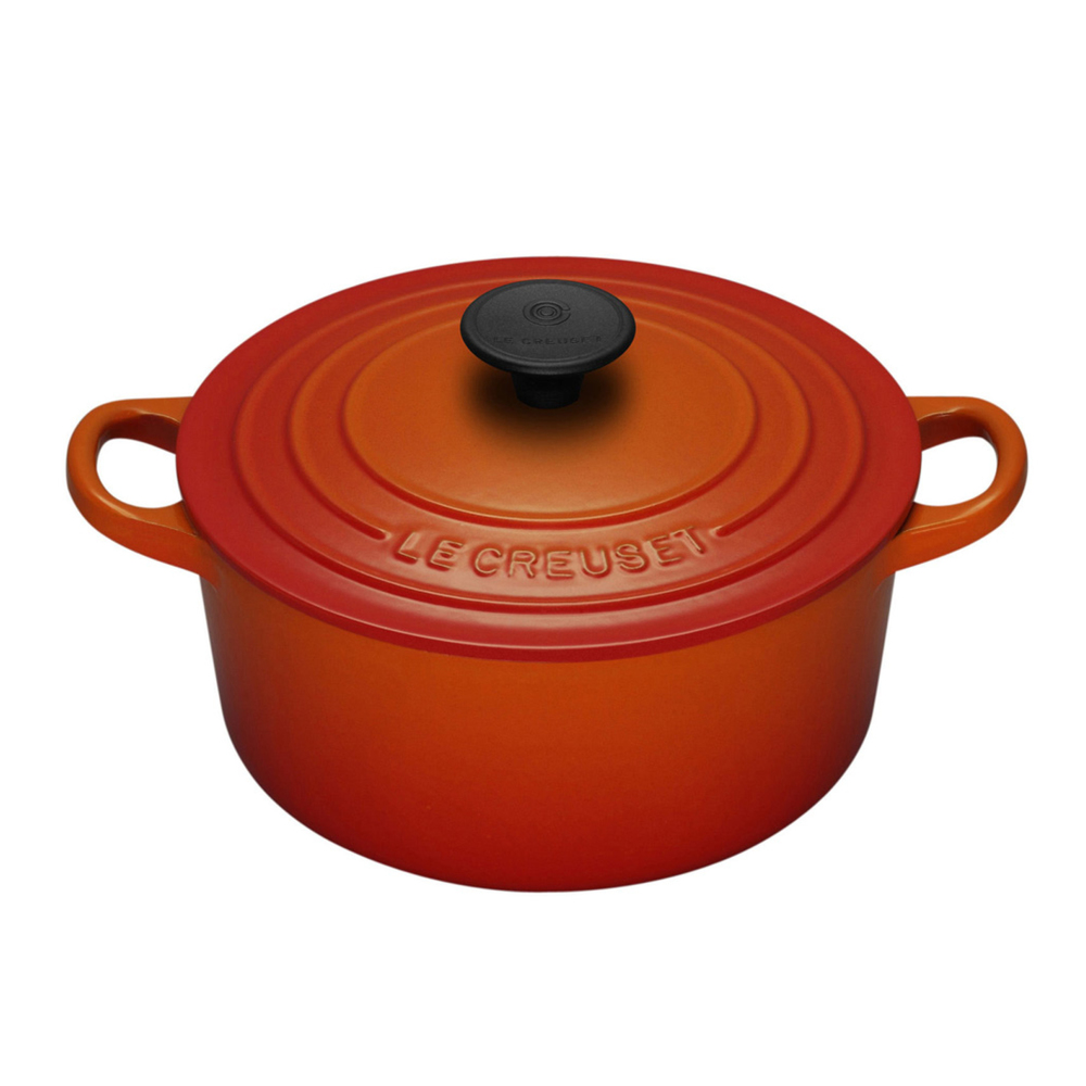 from $130 NB: Price varies according to size of the pot - Use the controls on the Le Creuset site to get the size and colour you desire. (5 1/2 Qts is the most popular)
