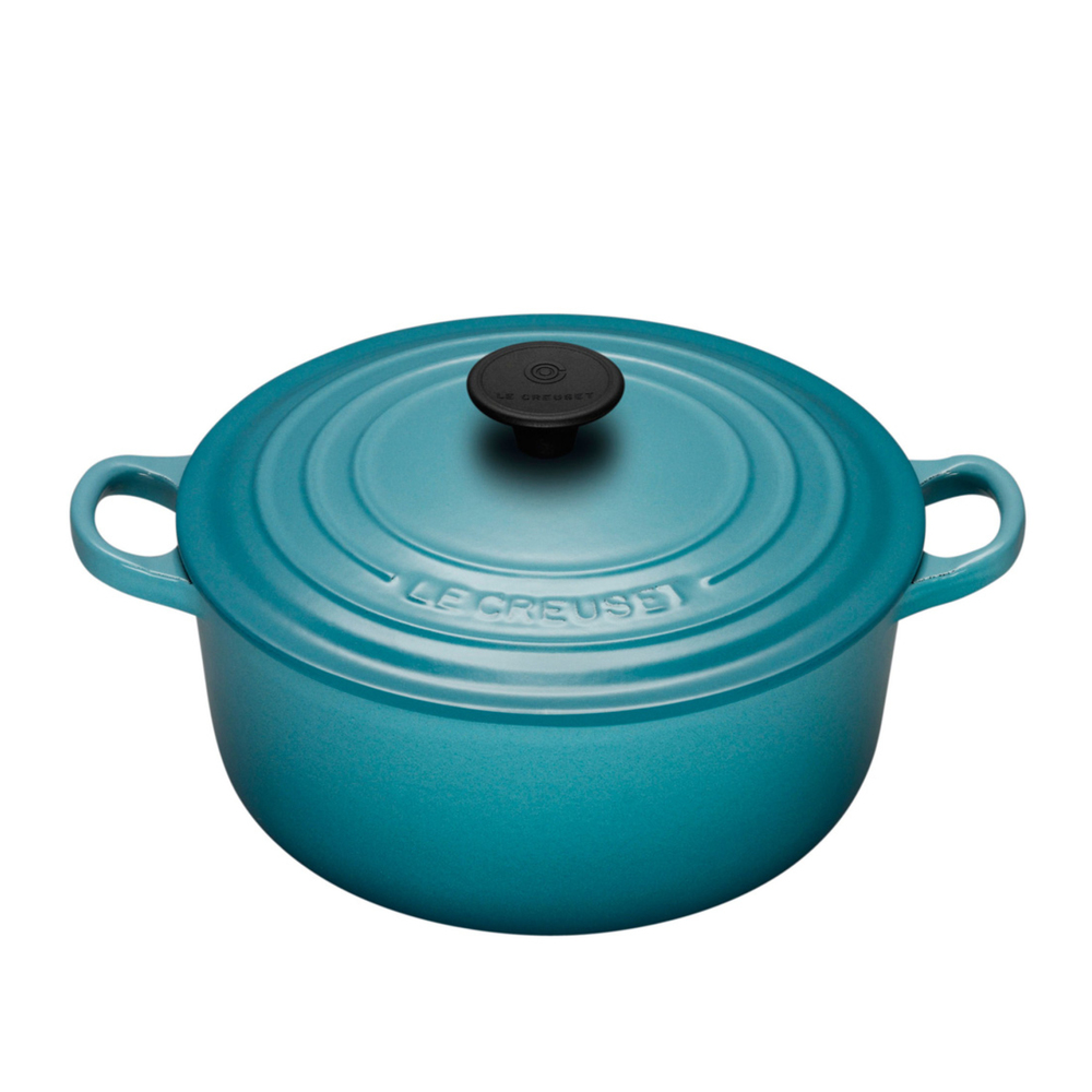 From $200 NB: Price varies according to size of the pot - Use the controls on the Le Creuset site to get the size and colour you desire. (5 1/2 Qts is the most popular)