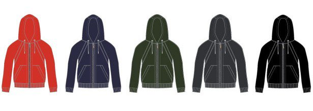 "The hoodie comes in a range of colours. Click ""Buy Now"" to choose your favourite."