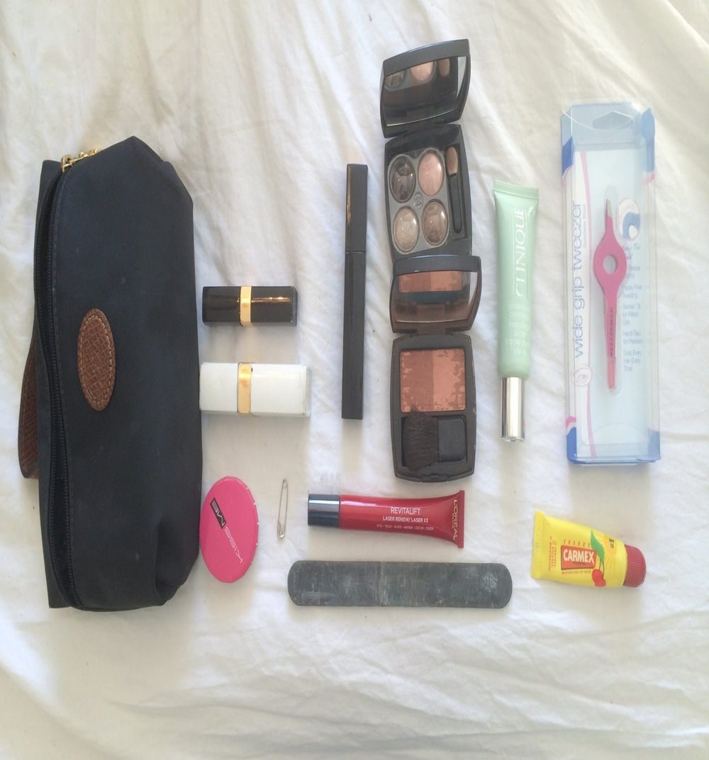 Getting my make up down to these items was an achievement.
