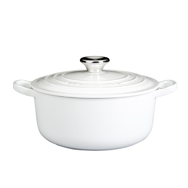 from $320 NB: Price varies according to size of the pot - Use the controls on the Le Creuset site to get the size and colour you desire. (5 1/2 Qts is the most popular)