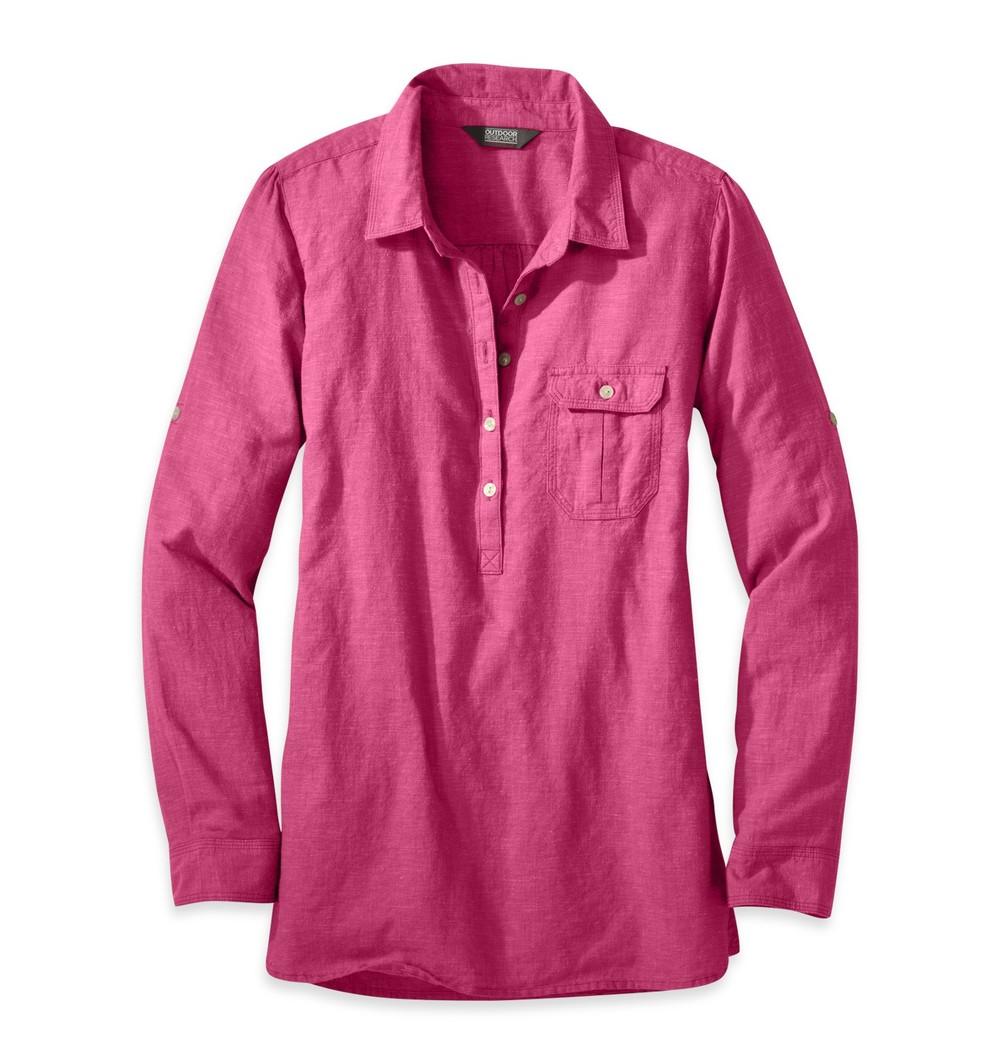 Women's Coralie Shirt Sangria.jpg