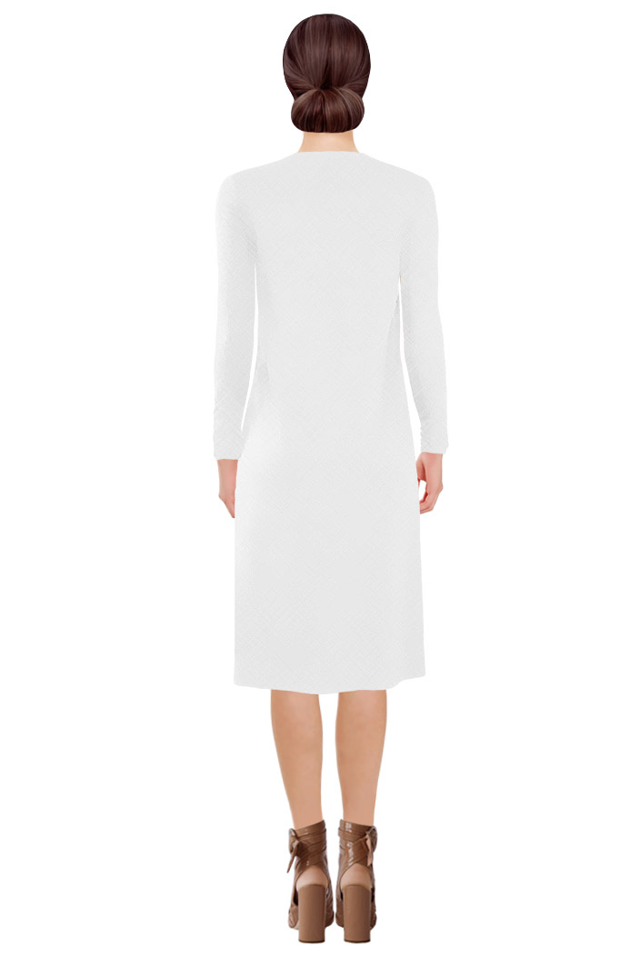 Emerge Dress White Back.jpg