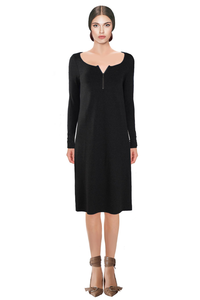Zipped Dress Black.jpg