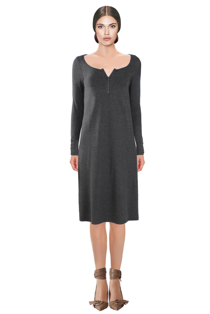 Zipped Dress Grey.jpg
