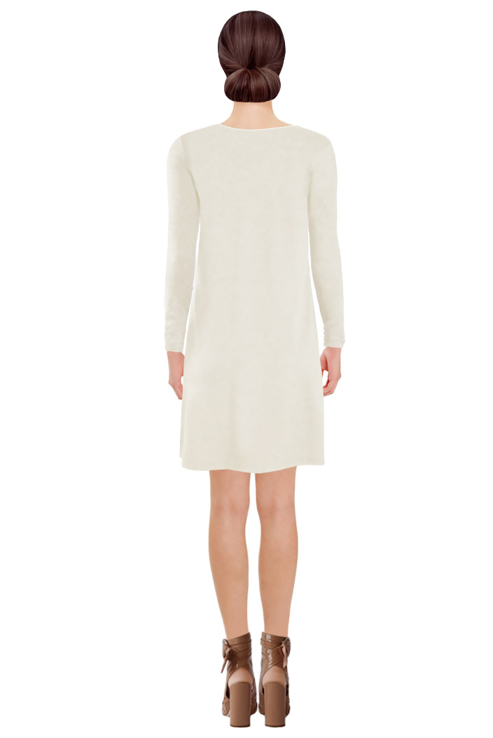 Zipped Tunic Off-white Back.jpg