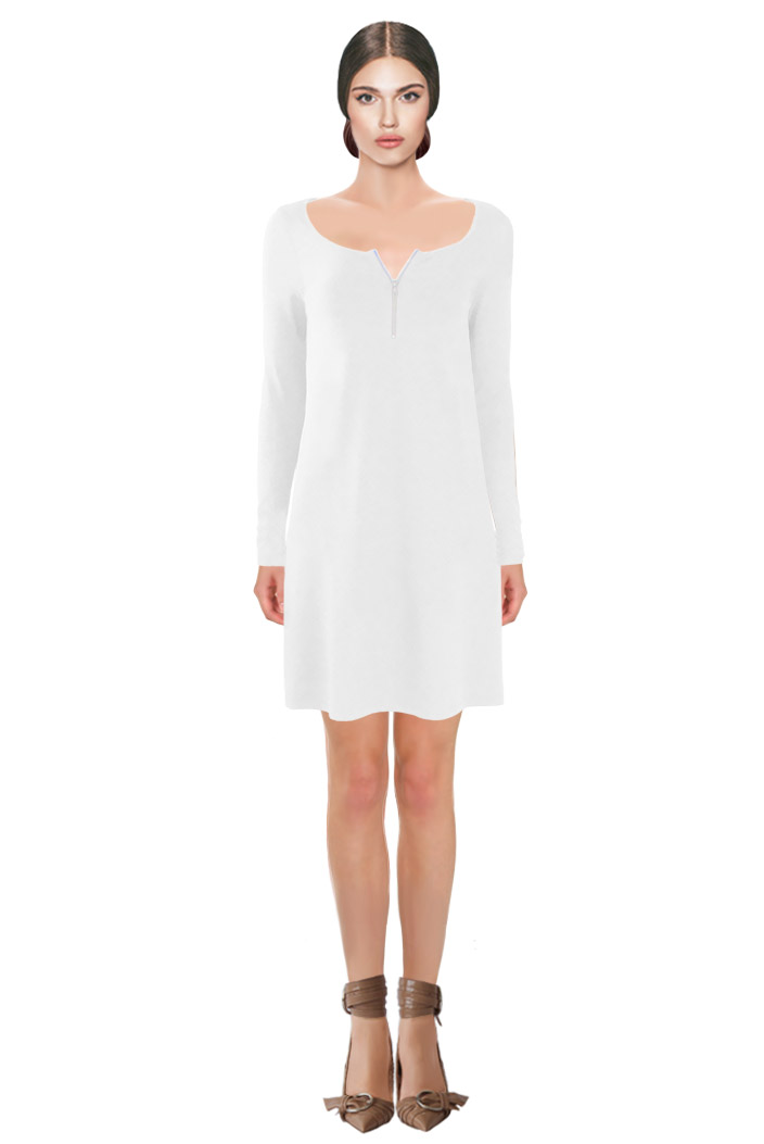 Zipped Tunic White.jpg