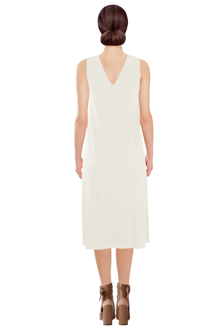 Quiver Dress Off-White Back.jpg