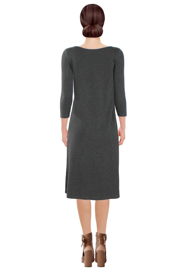 Unleash Dress Grey Back.jpg