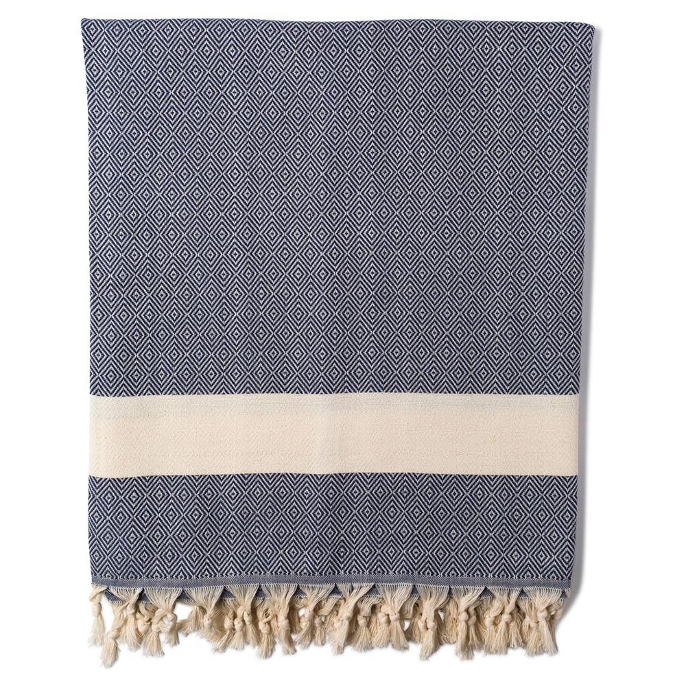 Blanket Damla Navy.png