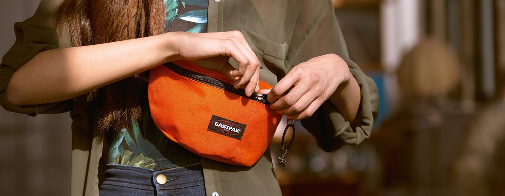 The EastPak Springer Bum Bag comes in colours. One essential to save the rest.
